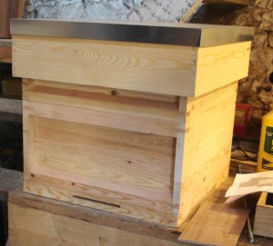 the very very first hive produced at peak-hives.co.uk