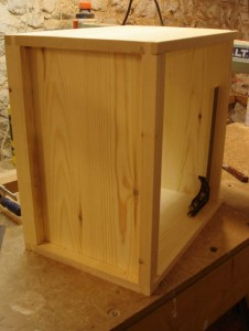 14x12 National Brood Chamber in Red Deal