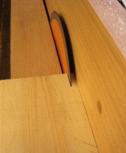 Thin Kerf Blade used for making National Hive Frames