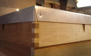 Lock Jointed National Hive Roof