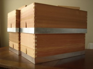 Custom made nucleus hives