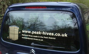 peak-hives car graphics