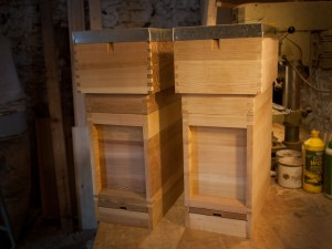 14x12 Nucleus Hives In Cedar
