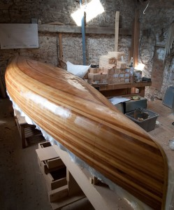 Canadian Cedar Strip Canoe