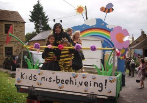 Peak Hives Carnival Float