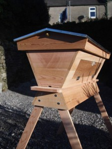 Top Bar Hive in Cedar