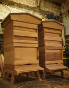 National Hive with Gabled Roof